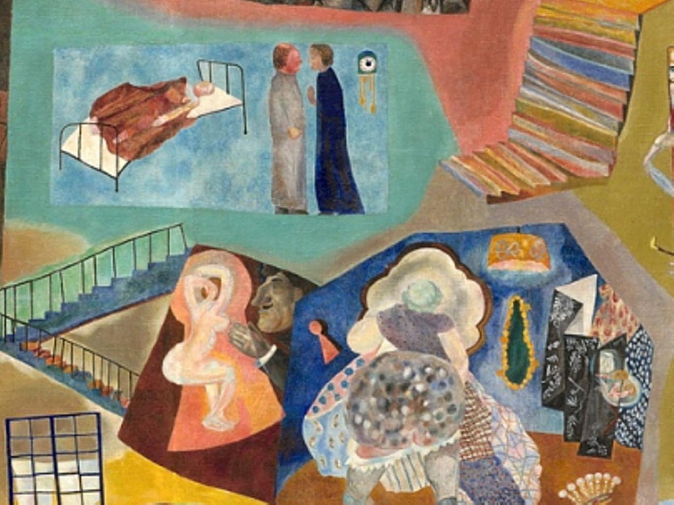 Музейный экспонат: «Дом в разрезе» из Ярославского художественного музея. Галерея 1