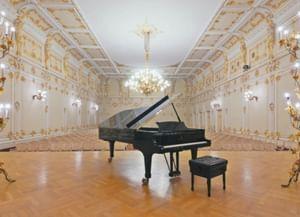 Малый зал Санкт-Петербургской академической филармонии им. Шостаковича