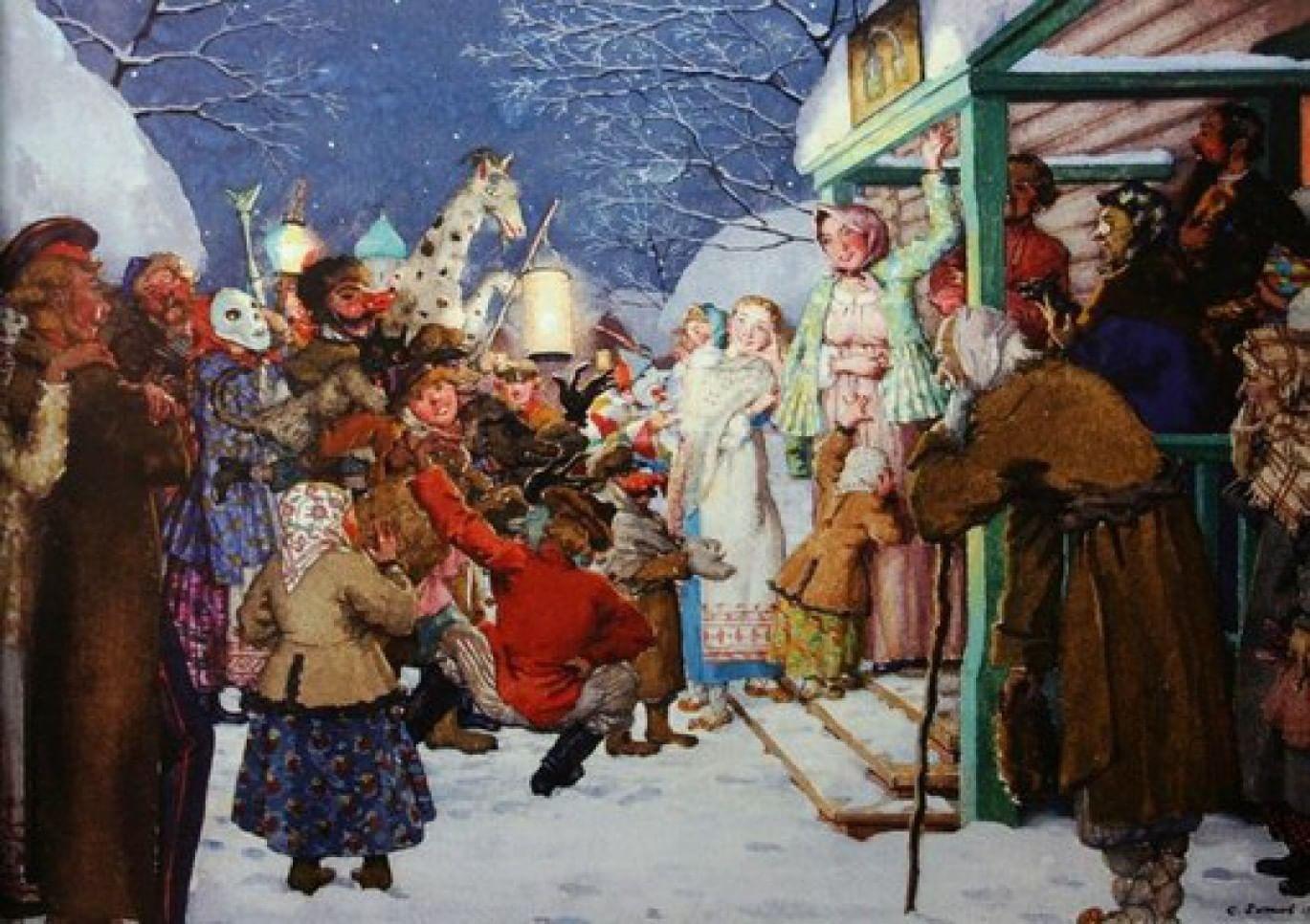 Биография Деда Мороза. Галерея 1