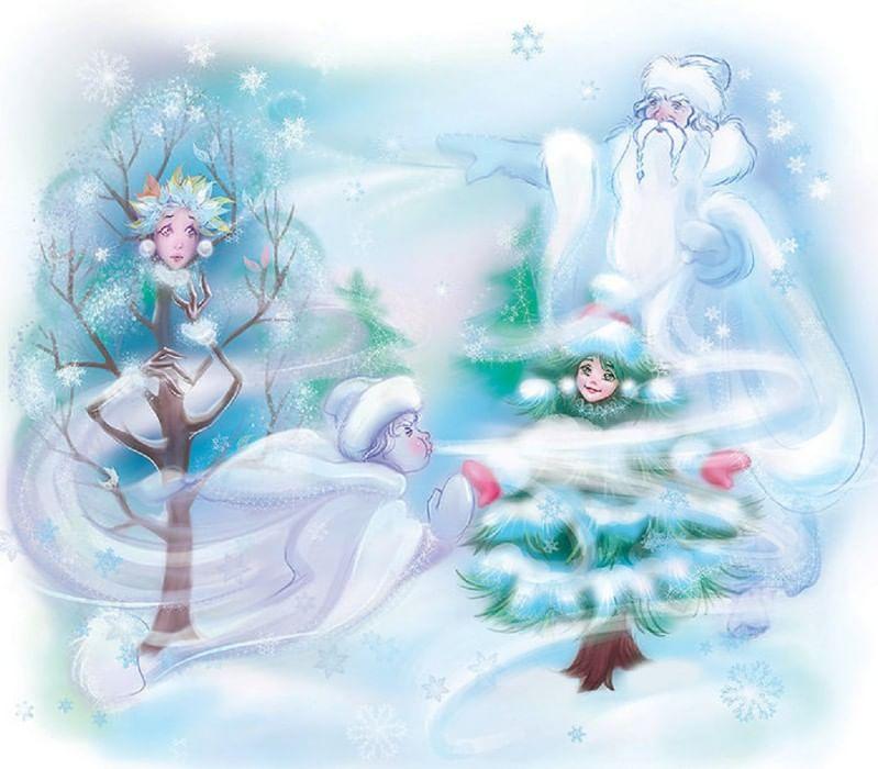 картинки на тему фантазии деда мороза сюда новый год