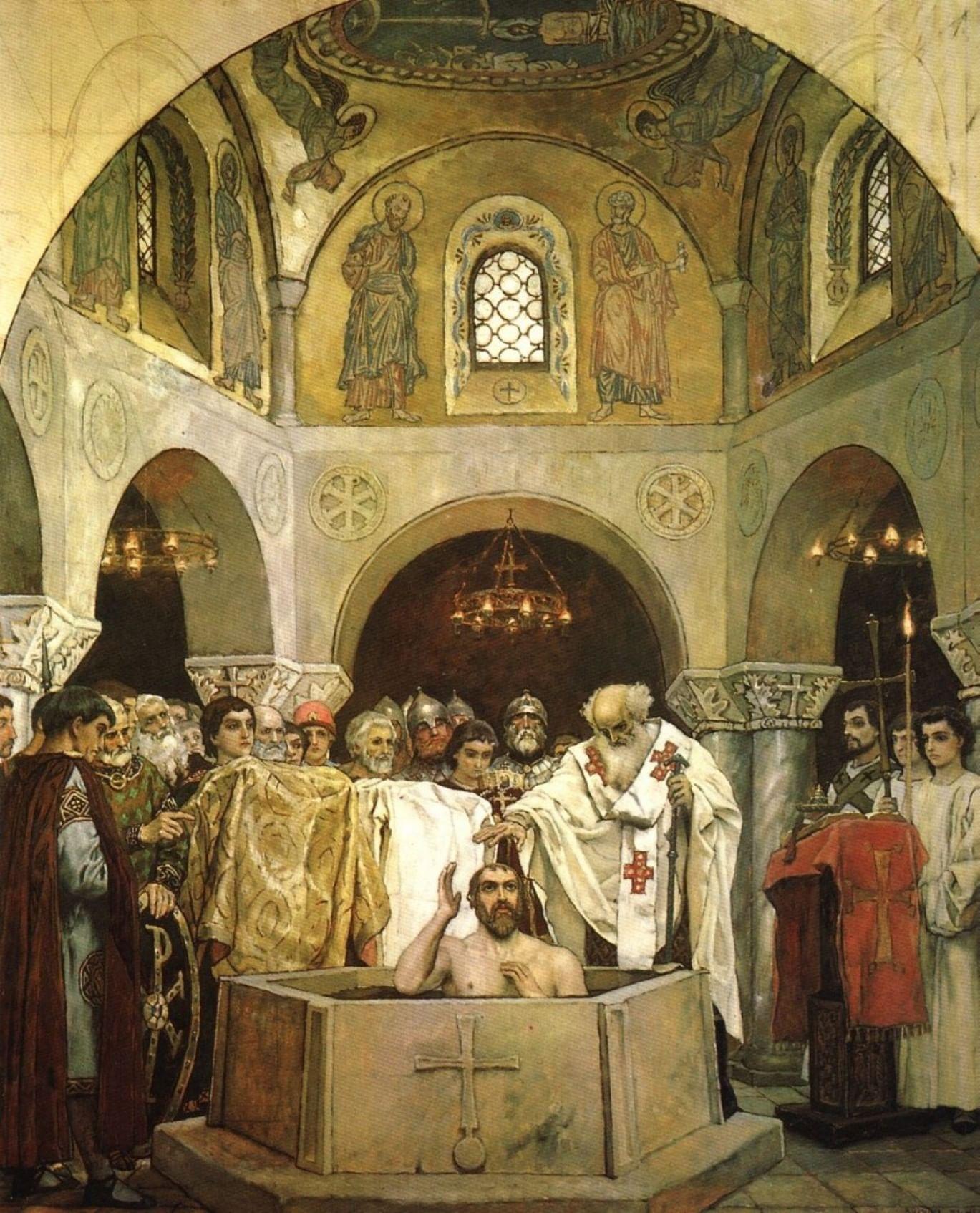 Князь Владимир в русском искусстве. Галерея 5