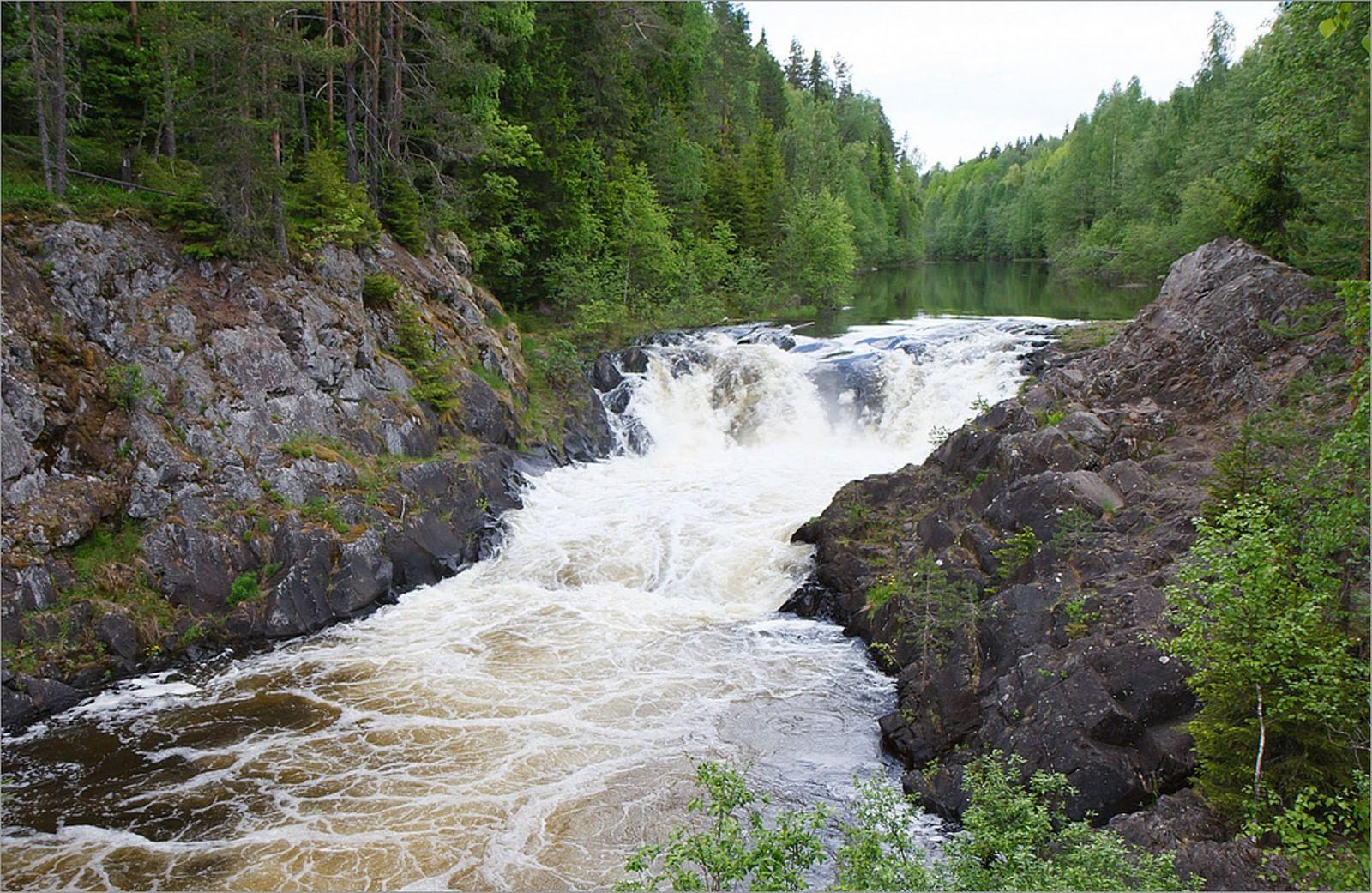 Водопад кивач республика карелия