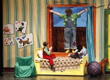 Спектакль «Карлсон, который живет на крыше»