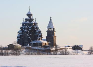 Экскурсия «Путешествие в Заонежье зимой с посещением острова Кижи» (из г. Петрозаводска)