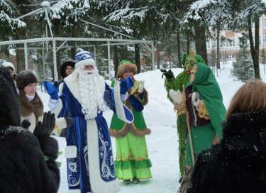 Новогоднее интерактивное мероприятие «Путешествуем играя, в лесной сказке Кыш Бабая»