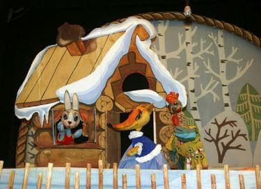 Спектакль «Лиса, Заяц и Петух»