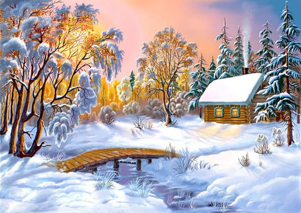 сколиоз картинки зима красивые рисунки десерт можно