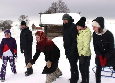 Программа «Путешествие на остров Кижи зимой. Игры и забавы Олонецкой губернии»