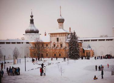 Новогодняя программа «Один день в Ростовском кремле»
