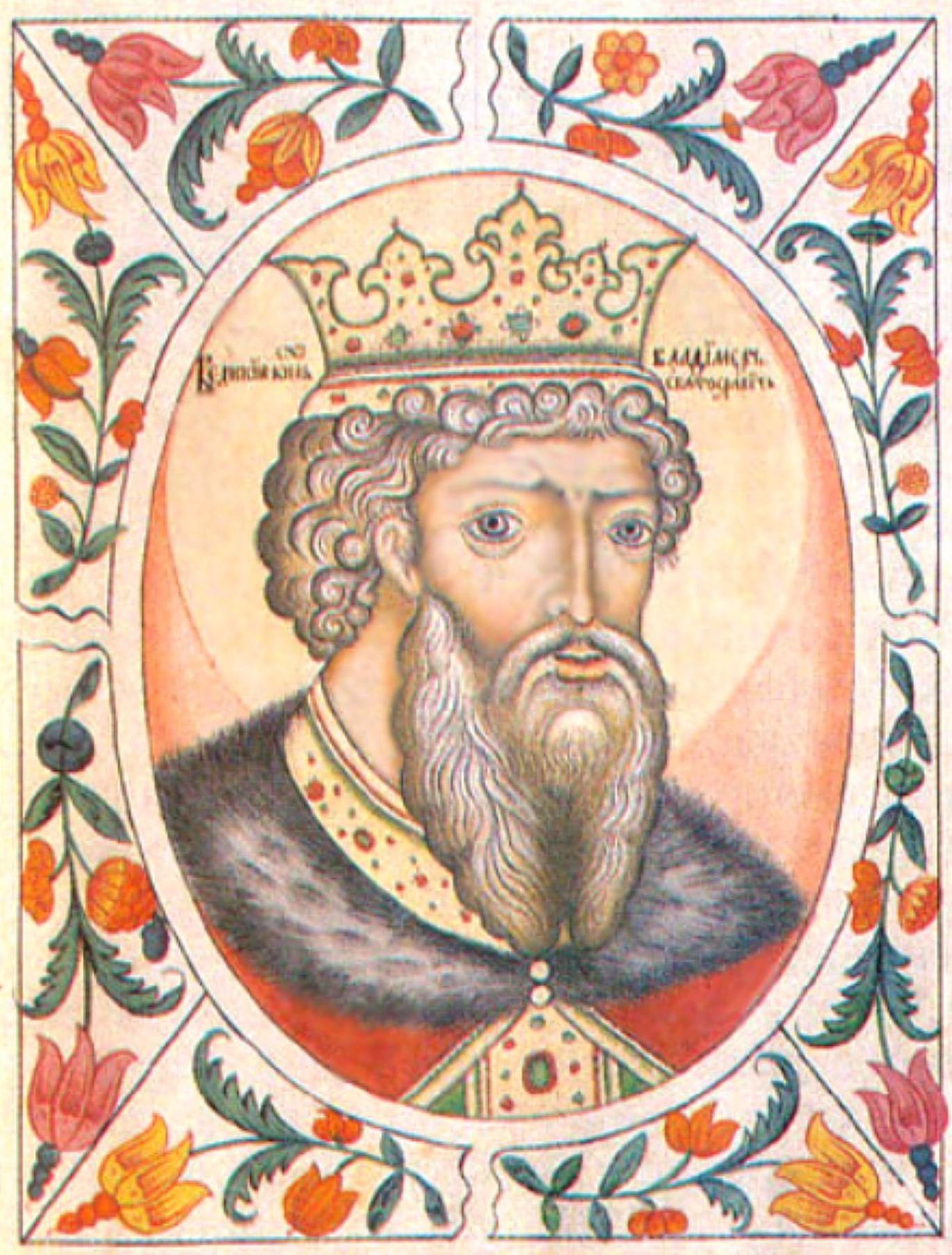 Князь Владимир в русском искусстве. Галерея 8