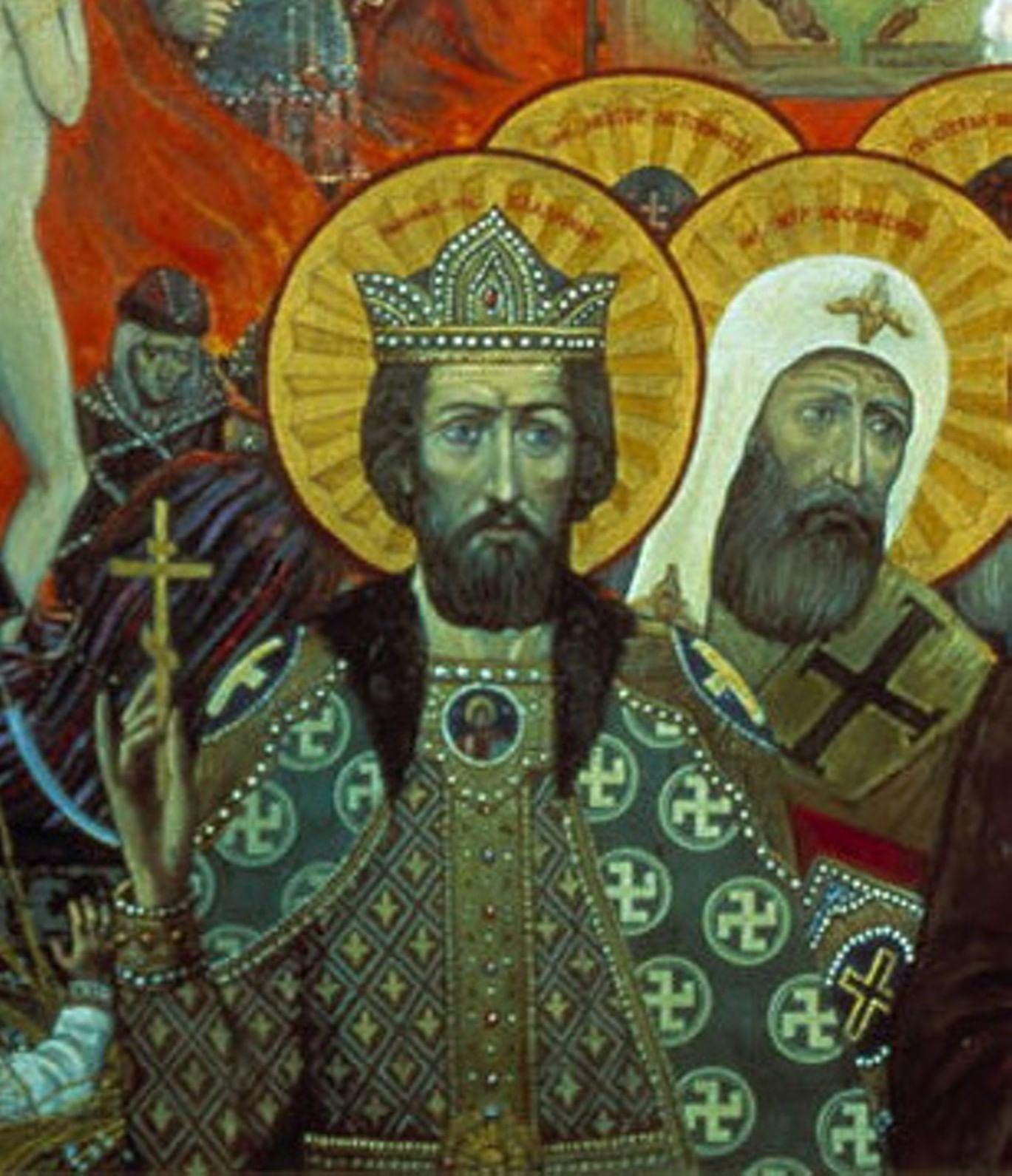 Князь Владимир в русском искусстве. Галерея 6