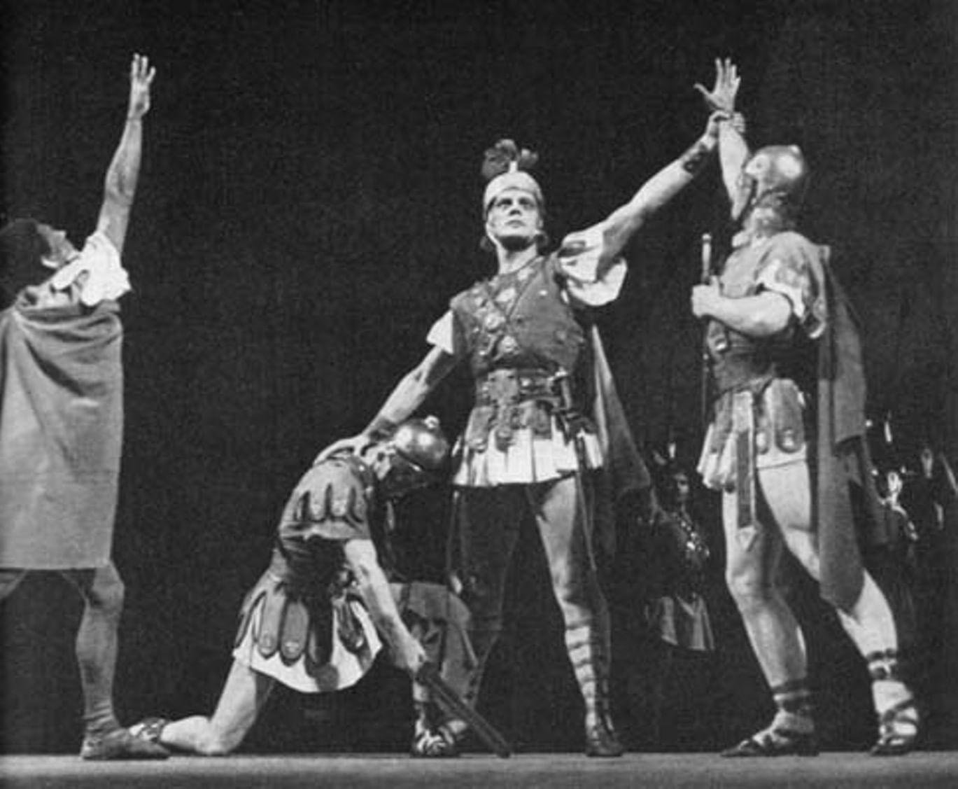 Знаменитые русские балеты. Топ 5. Галерея 5. Спартак