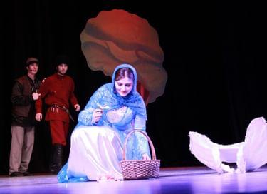 Спектакль «Сказка об отважном Берсе и прекрасной Жовхар»