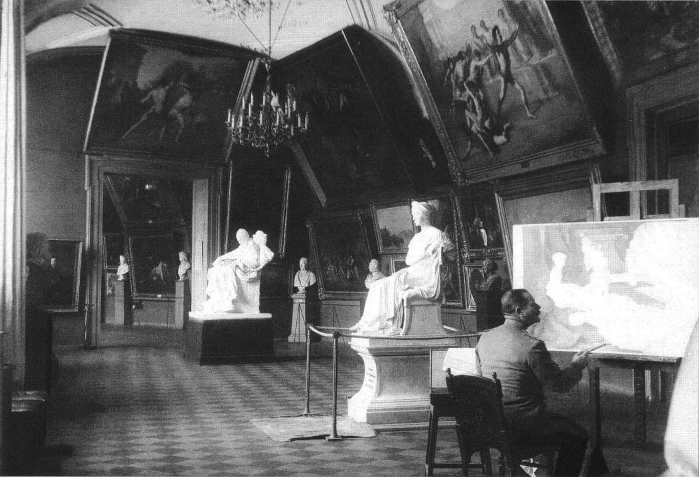 Академия художеств: ретроспективный взгляд. Галерея 3. Чему и как учили