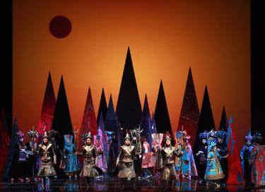 Опера «Волшебная лампа Аладдина»