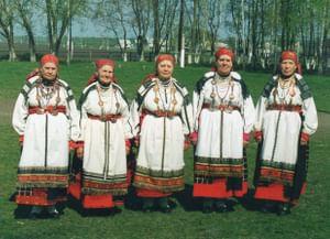 Технологии традиционной черноузорной вышивки в селах воронежско-белгородского пограничья