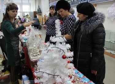 Новогодняя ярмарка подарков ручной работы
