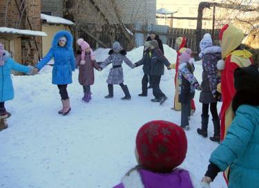 Игровая программа «Святочные забавы для детей»