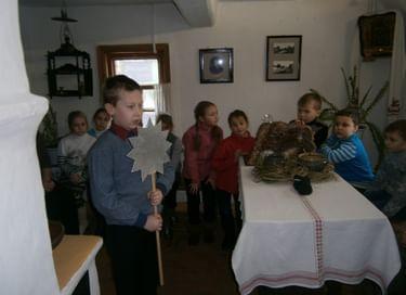 Интерактивное занятие «Святочные вечера»