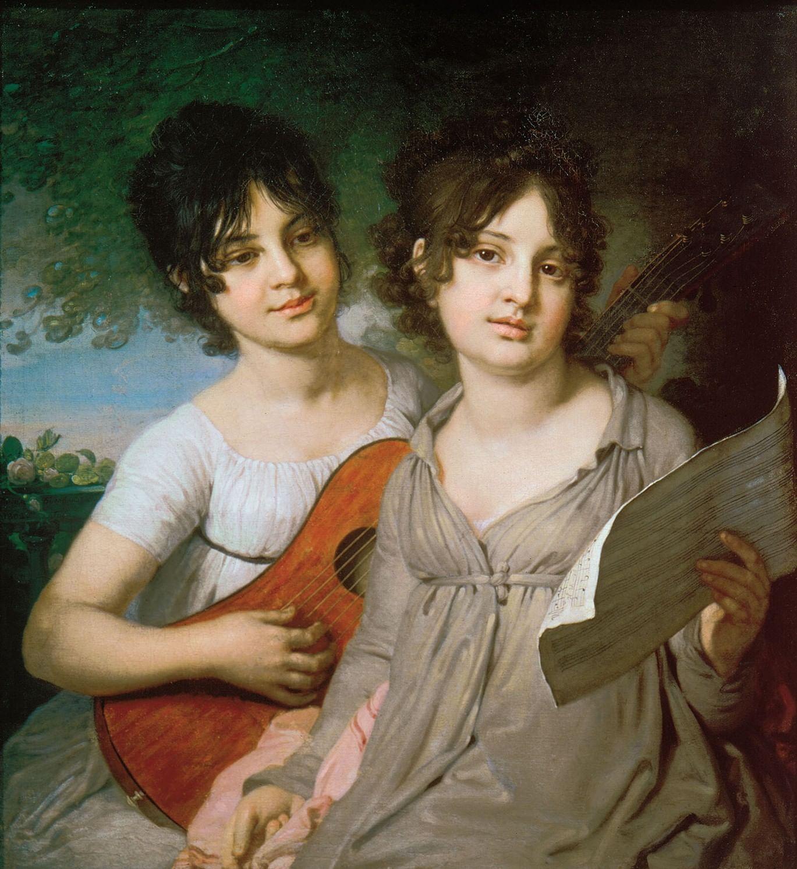 Самые красивые Варвары в русских портретах. Галерея 3