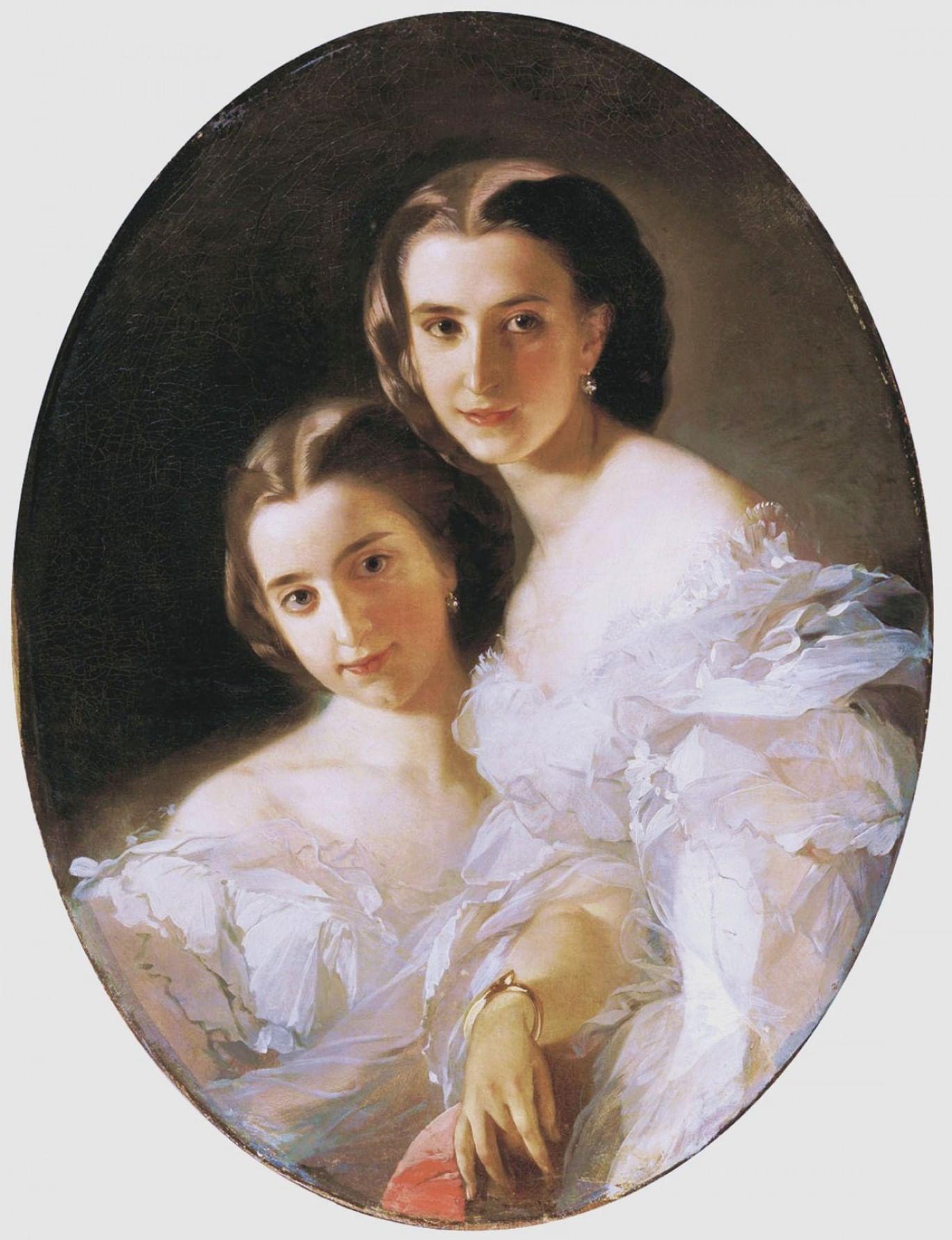 Самые красивые Варвары в русских портретах. Галерея 4