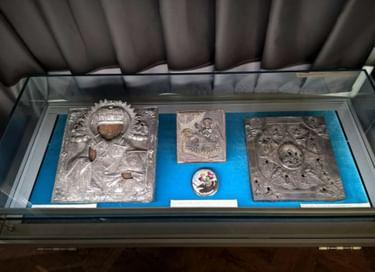 Экспозиция русской иконописи и меднолитой пластики XVI–XIX вв.