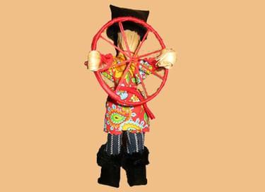 Мастер-класс «Кукла Спиридон Солнцеворот»