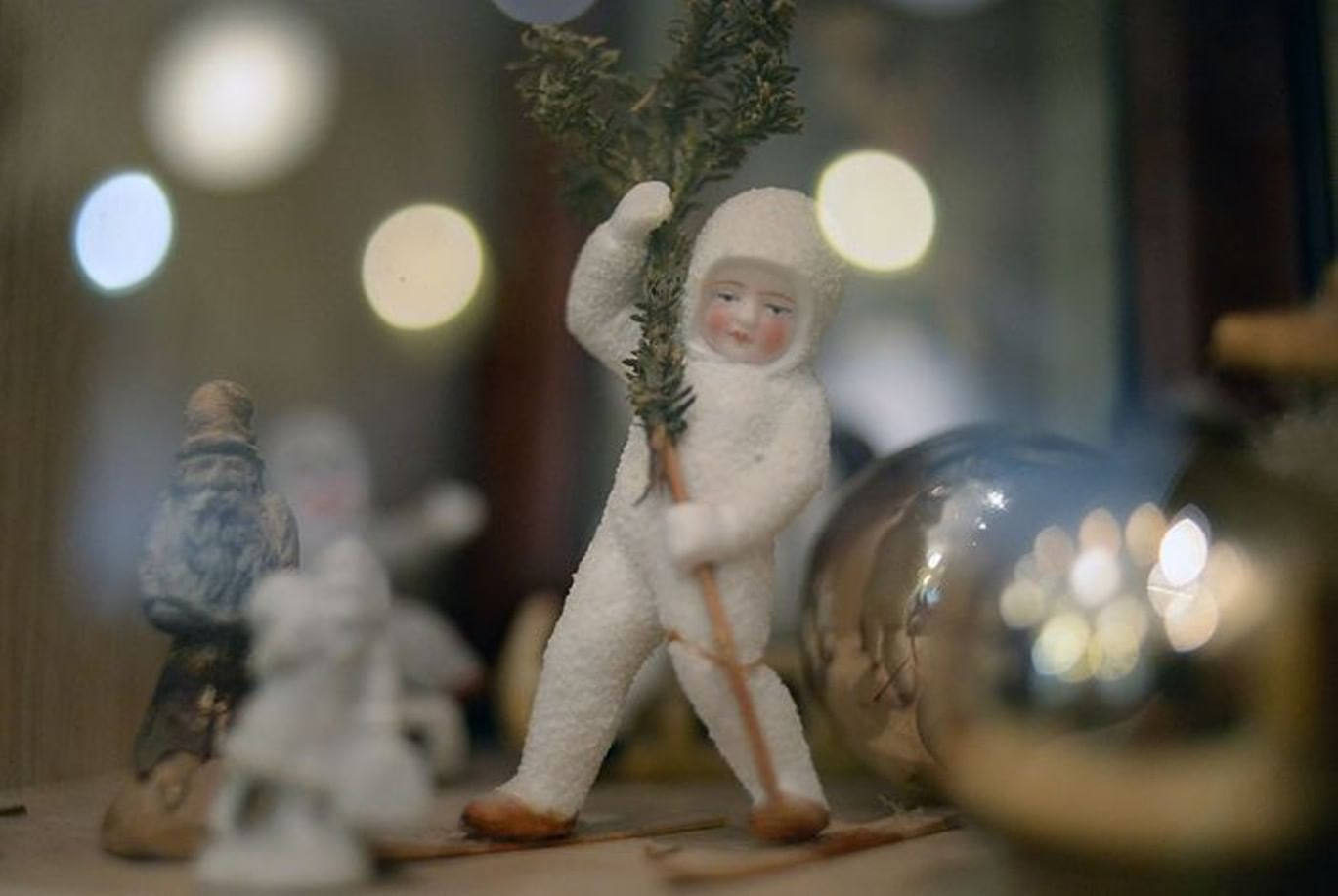 Рождественские игрушки своими руками 2