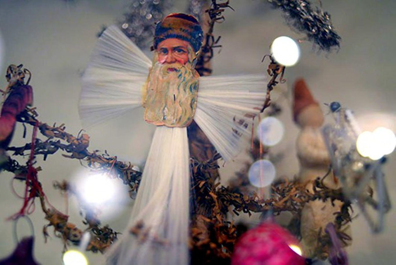 Рождественские игрушки своими руками 4