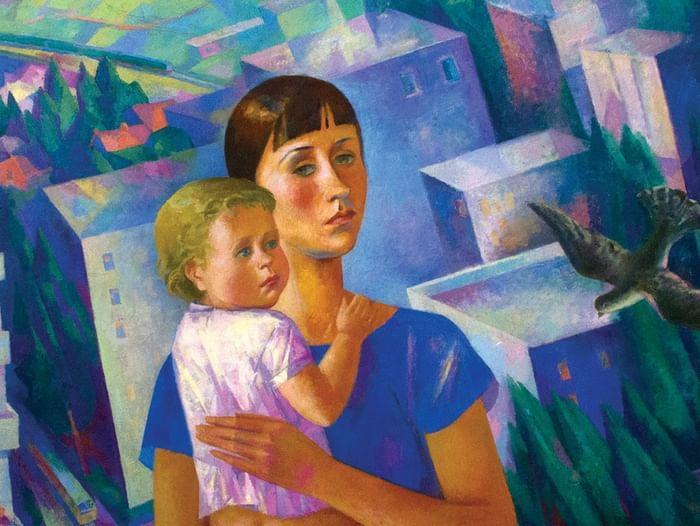 Выставка произведений, подаренных Благотворительным фондом Тимченко