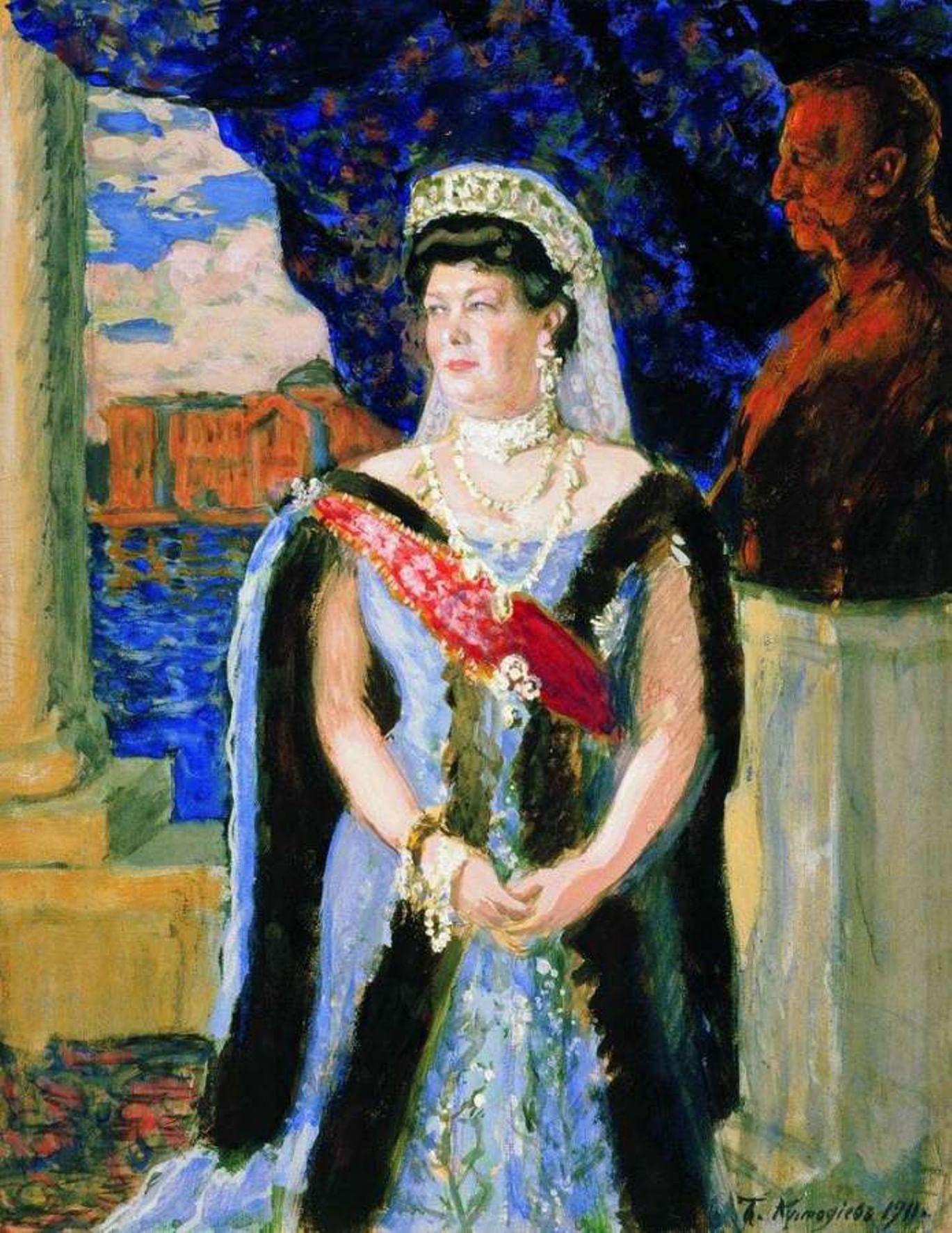 Драгоценности императриц от Рокотова до Кустодиева. Галерея 4. Мария Павловна