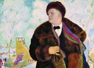 Борис Кустодиев. «Портрет Федора Шаляпина»