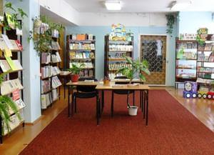 Сельская библиотека с. Затон