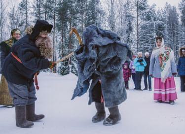 Праздник «Святки в северной деревне»