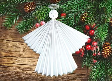Мастер-класс «Рождественский ангел»