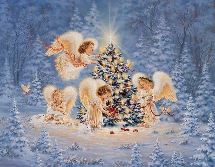Картинкам наступающим рождеством