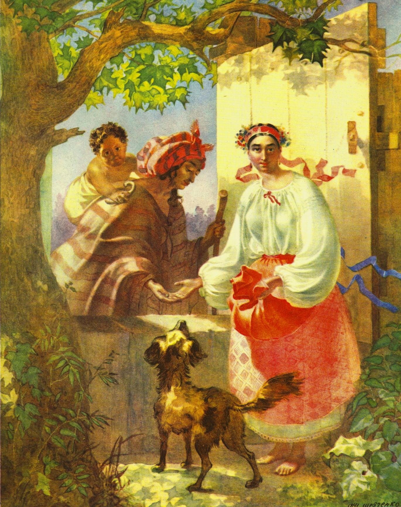 Как гадали на картинах русских художников. Галерея 1