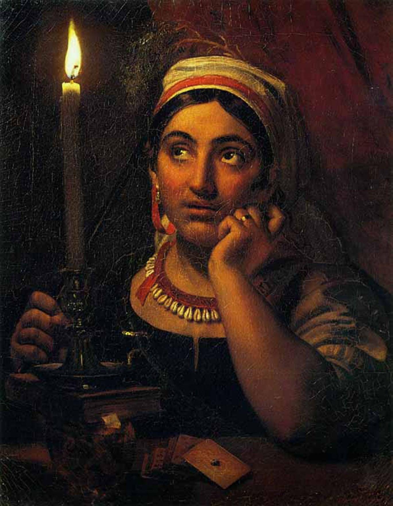 Как гадали на картинах русских художников. Галерея 2