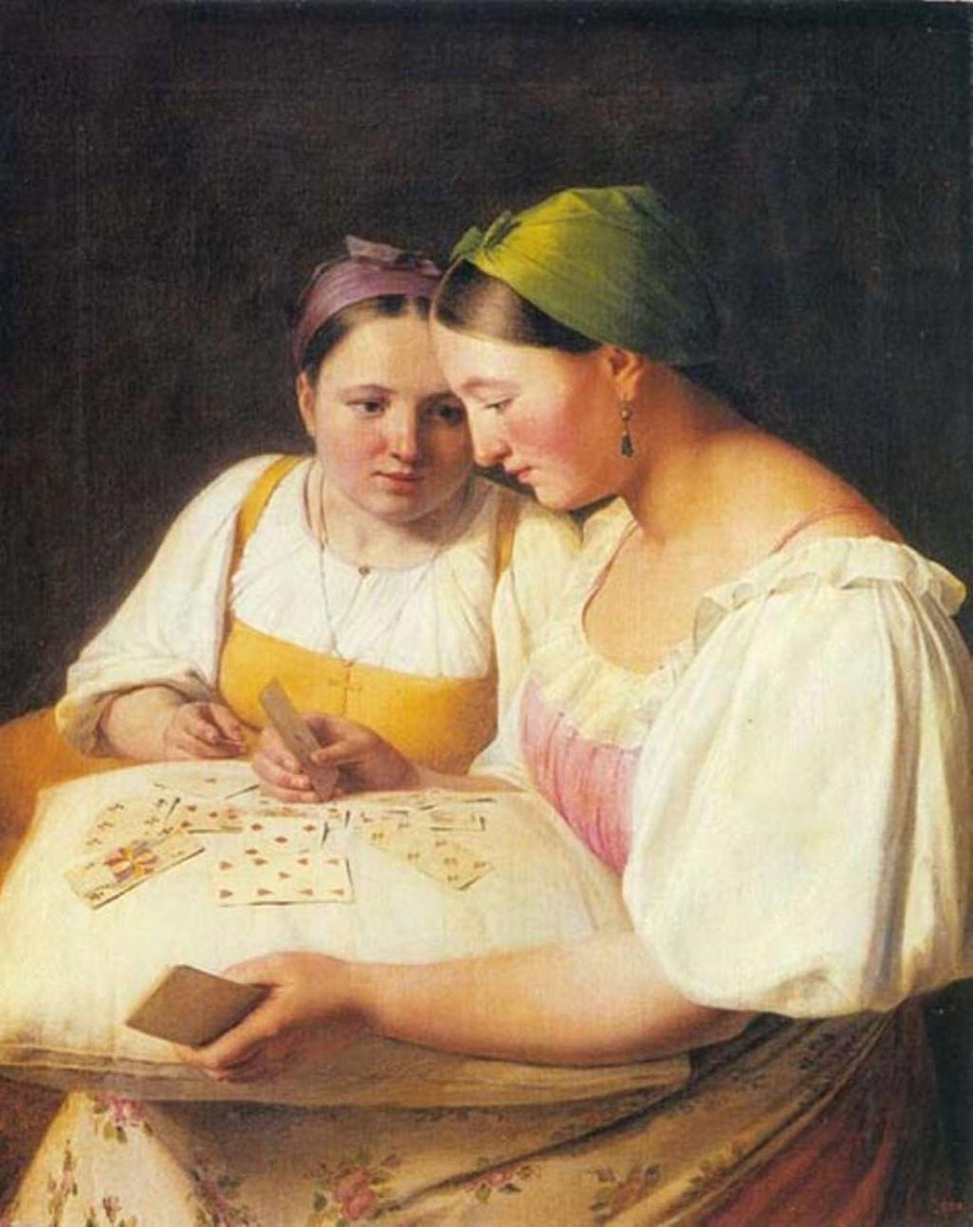 Как гадали на картинах русских художников. Галерея 3