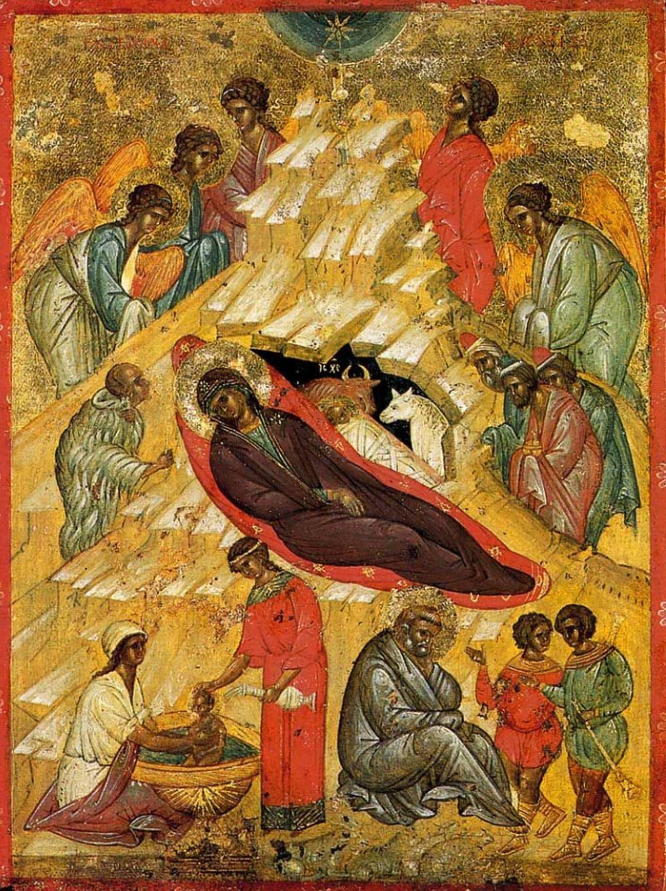 О чем рассказывают иконы зимних праздников. Галерея 2. Рождество Христово