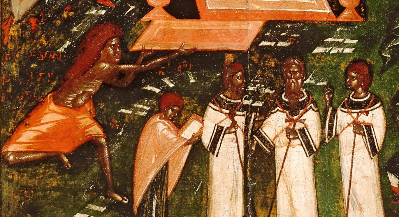 О чем рассказывают иконы зимних праздников. Галерея 3. Собор Пресвятой Богородицы