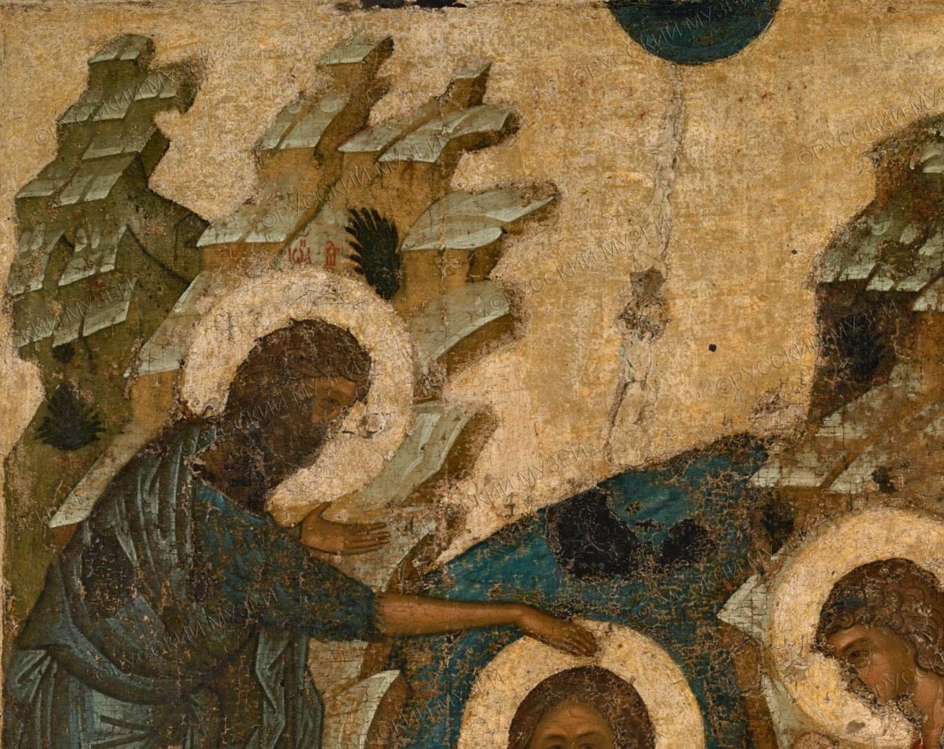 О чем рассказывают иконы зимних праздников. Галерея 5. Крещение Господне