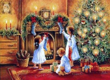Утренник «Рождественские забавы»