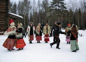 Современные календарные праздники русских Архангельского севера