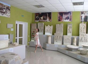 Выставка «Пантикапей – столица Боспорского царства»