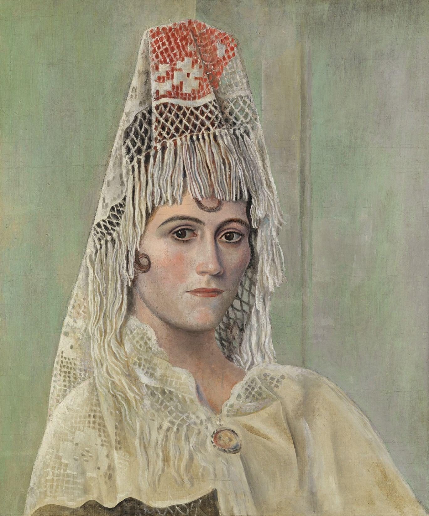 Портрет его жены: русские музы великих европейских художников. Галерея 1. Пабло Пикассо