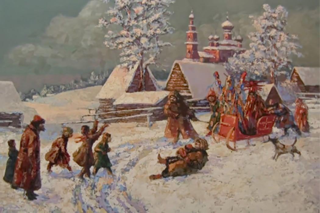 смех да веселье фольклорный праздник посвященный крещению руси 1030 лет для подготовительной группы