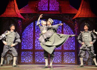 Новогоднее представление с показом спектакля «Невесомая принцесса»