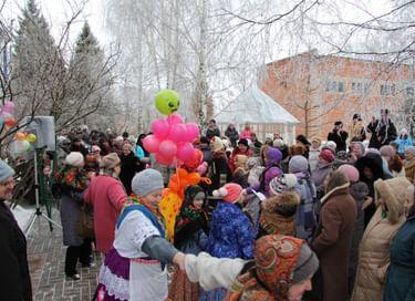 Праздник «Масленица в Ивановке»