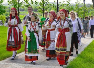 Интерактивное занятие «Русский народный костюм Воронежской губернии»